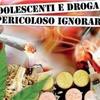 """INVITO INCONTRI CON ADOLESCENTI """"VIVERE E' STUPEFACENTE"""""""