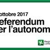 REFERENDUM REGIONALE DEL 22 OTTOBRE 2017