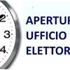 APERTURA STRAORDINARIA UFFICIO ELETTORALE