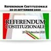 REFERENDUM COSTITUZIONALE DEL 20-21 SETTEMBRE 2020